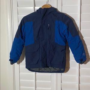Land's End Blue Squall Waterproof Winter Jacket